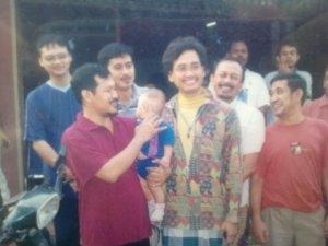 Ust Abu sangkan dan saya serta kawan2 patrap seven years ago