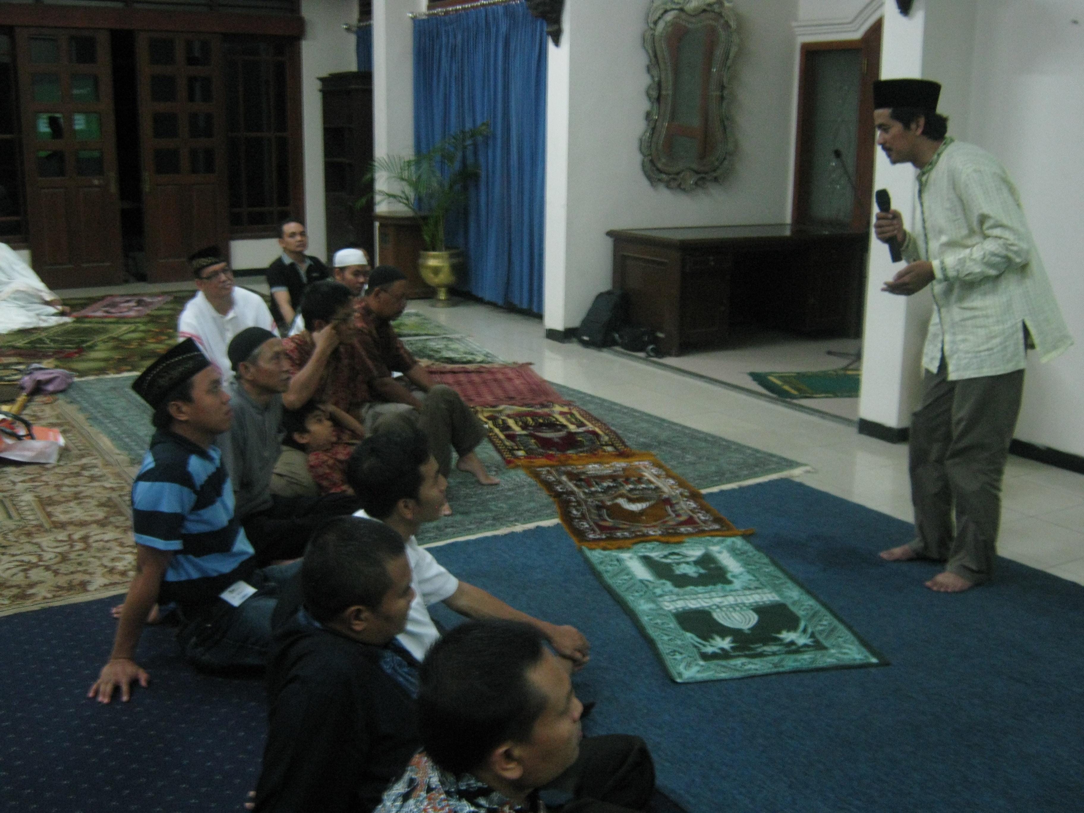 pelatihan tarawih  khusyu